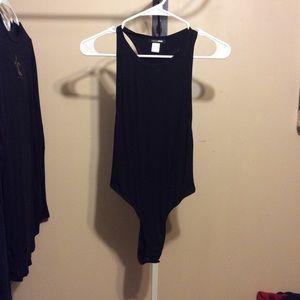 Black Fashion Nova bodysuit